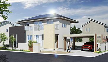 住宅パース画像